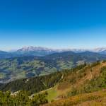 Panoramablick Flying Mozart - Tennengebirge